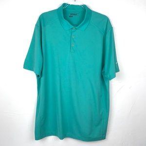 Men's Nike Golf Dri-FIT Turquouse Polo Shirt XXL